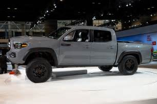 in color tacoma 2017 toyota tacoma trd pro look review