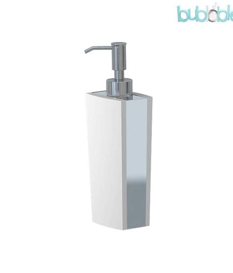 unique soap dispenser buy plumeria unique white soap dispenser online at low