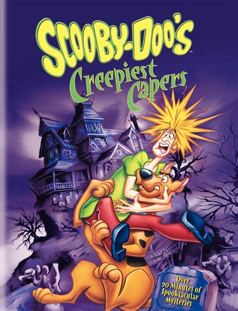 More Scooby Doo Now On Dvd by Scooby Doo S Creepiest Capers Dvd Scoobypedia Fandom