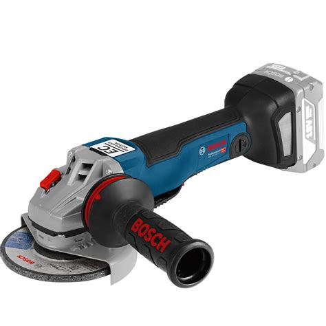 V Connection Ready bosch gws 18 125 pc 18v cordless connection ready angle grinder no batteries no charger no