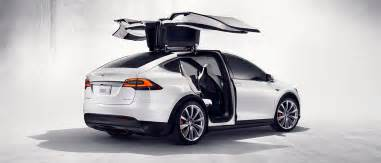 Electric Car Before Tesla Pics Of New Tesla Model X In Production Guise