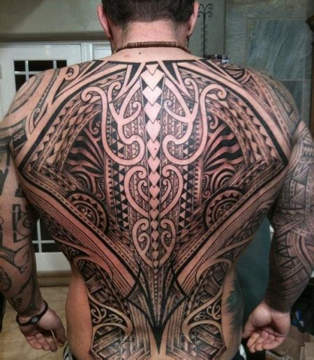 tribal back tattoos back tribal tattoos for