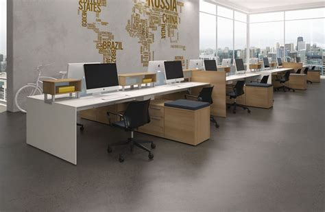 open plan office furniture commercial spaces