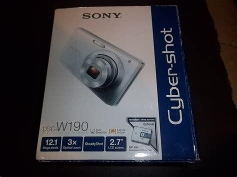 Memory Card Kamera Digital Sony sony cyber dsc w190 12 1 mp digital w 2gb memory card black digital cameras