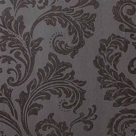 black and white wallpaper next acanthus black damask wallpaper from next damask