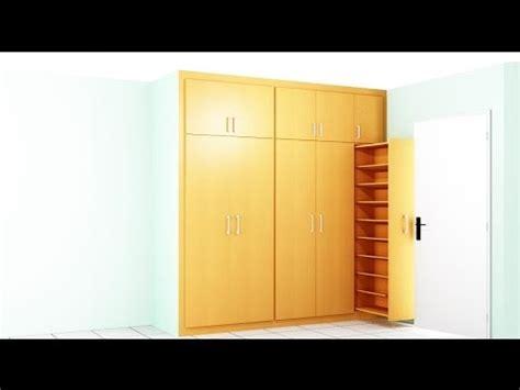 como hacer  armario  la habitacion youtube
