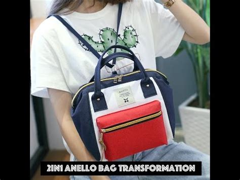Bag 2in1 Hello 2in1 anello bag backpack straps setup demo