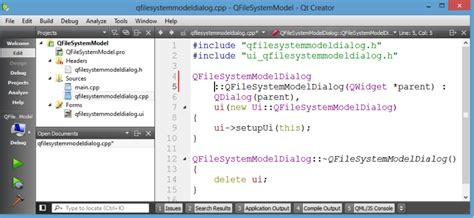 qt tutorial model view qt 之 qfilesystemmodel csdn博客