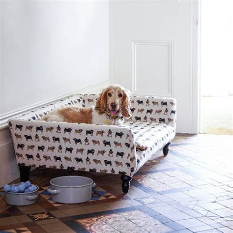 couch style dog bed the cecil a sofa style dog bed dog milk
