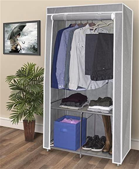 Clothes Closets Free Standing by Sorbus 174 Wardrobe Closet Portable Non Woven Fabric Free