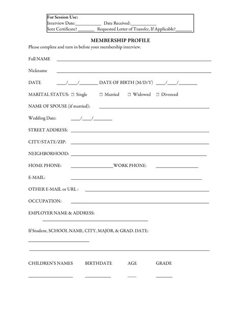 church membership application template best photos of letter of transfer church church