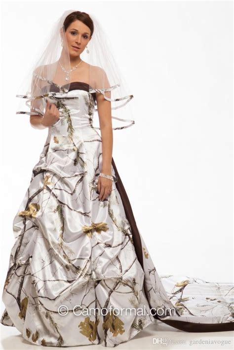 Best Seller Celana Camo Realtree camo wedding dresses winterwhite sweetheart gowns