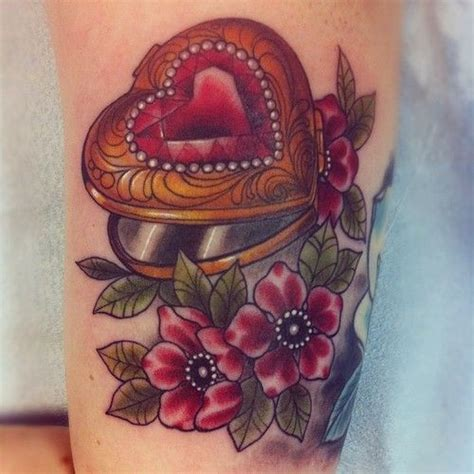 flower tattoo ring ring with flowers tattoo