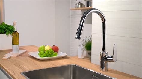 Pull Down Faucet Kitchen hansgrohe focus single lever kitchen mixer 240 31815000