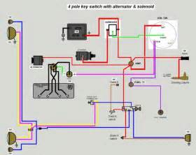 Jeep Alternator Wiring Diagram 12v Wiring Diagram The Cj2a Page Forums Page 1