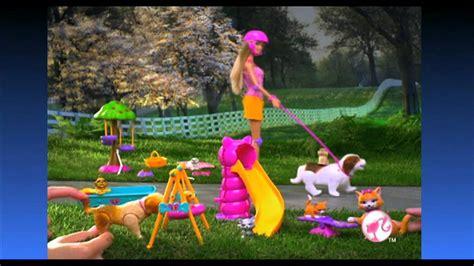 film barbie z pieskami barbie na rolkach z pieskami lalka youtube