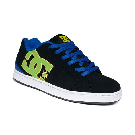 dc shoes for dc shoes net sneakers in black for black multi lyst