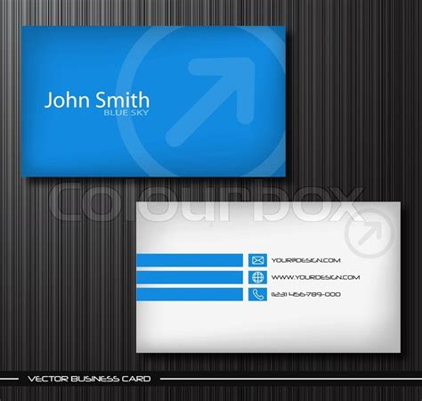 business card box template vector vector abstract creative business cards set template
