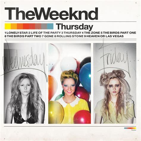 the weeknd gone the weeknd thursday tracklist album art genius