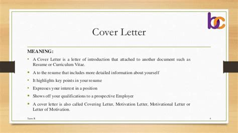 Covering Letter Definition by Cover Letter Quotations Tender E Tender