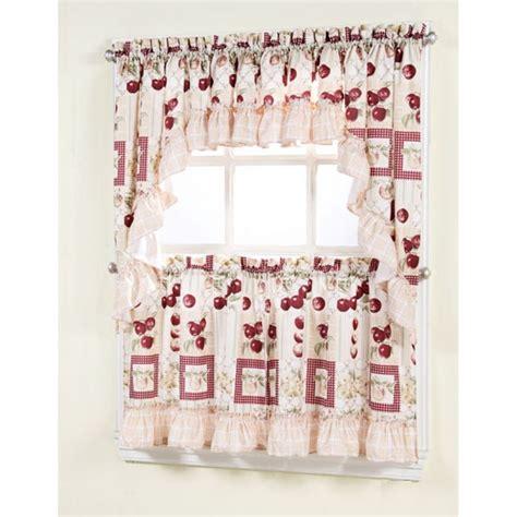 52 Best Kitchen Curtains Images On Pinterest Kitchen Kitchen Curtains At Walmart