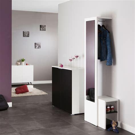Colonne De Rangement Cuisine 6037 by Vestiaire Avec Miroir Rangement Chaussures Longueur 40cm