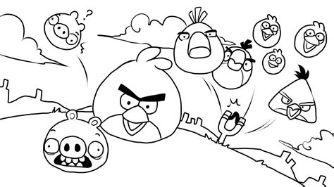 angry birds paint and color games online angry birds brinquedos de papel desenhos dos angry birds para colorir
