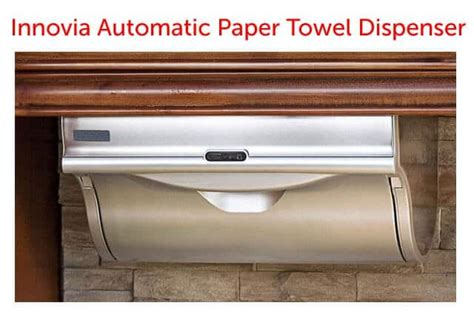 Automatic Paper Towel Dispenser For Kitchen by Giveaway Innovia Automatic Paper Towel Dispenser Steamy