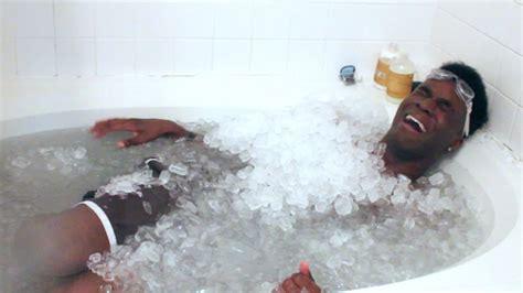 ice bathtub the ice bath challenge youtube