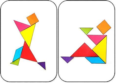 figuras geometricas montessori 7 mejores im 225 genes de tangram en pinterest montessori