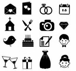 symbol computer icon married wedding ring church wedding cake gift bride icon set wedding