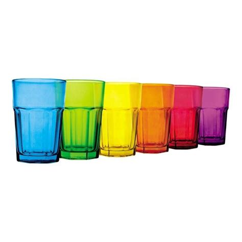 colored glasses sets colored glass set everyday glasses dishes silverware