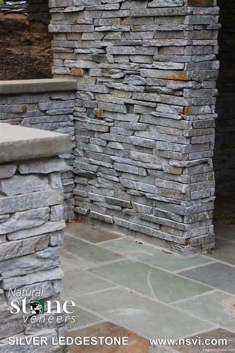silver ledgestone legends stone natural stone