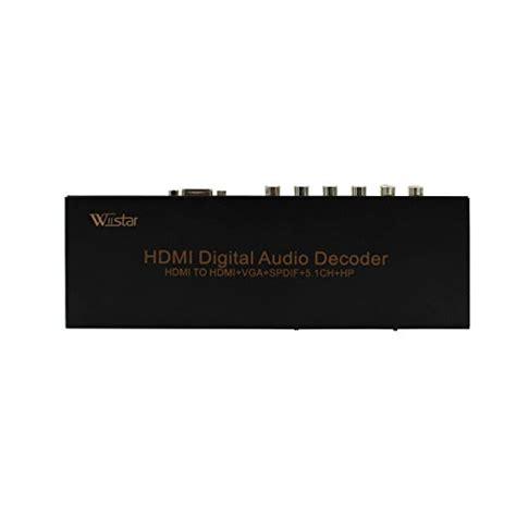 format audio lpcm hdmi to hdmi vga spdif digital optical audio decoder