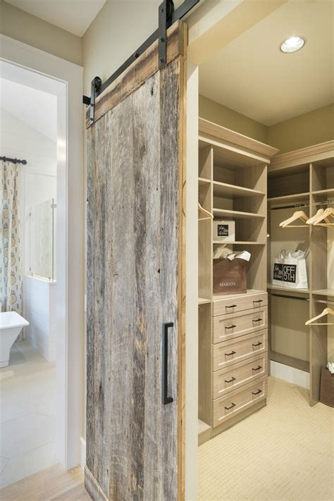 Distressed Barn Door Bring Some Country Spirit To Your Home With Interior Barn Doors