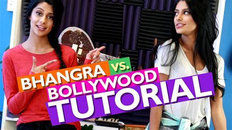 tutorial dance bollywood bhangra vs bollywood dance tutorial youtube