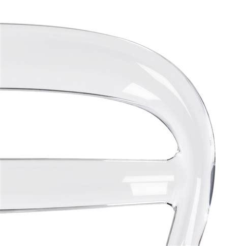 clear layout en español zwarte en transparante design stoel baro uit kunststof