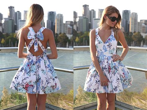 casual cute fashion floral print model image 200779 floral outfits tumblr www pixshark com images