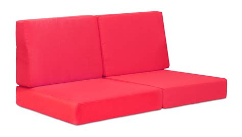 red couch cushions rivera sofa cushions zuri furniture
