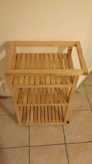 bath ornament for sale in lucan dublin from excellent condition ikea molger bathroom trolley birch for