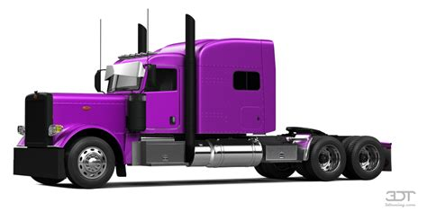 3dtuning of peterbilt 389 sleeper cab truck 2015 3dtuning