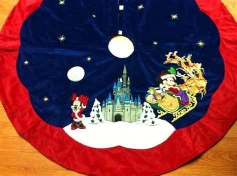 disney christmas tree skirt craft ideas pinterest