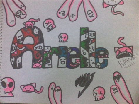 doodle last name a random doodle of my name 3 by xxdemonrosexx on deviantart