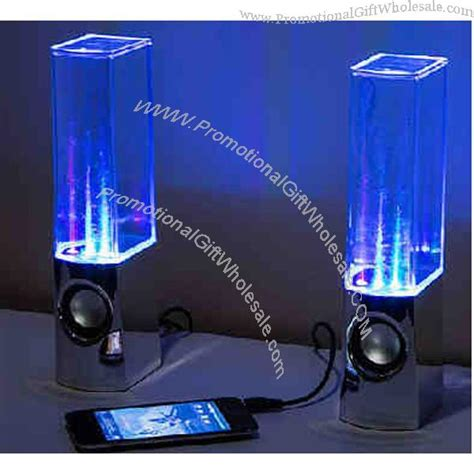 Speaker Multi Colour Led With Water Effect T3009 2 these water motion waves led speakers are portable and
