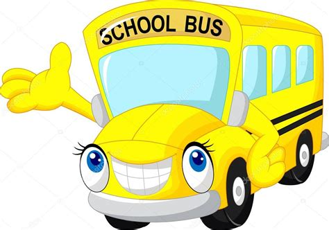 imagenes transporte escolar animado dibujos animados de autob 250 s escolar vector de stock