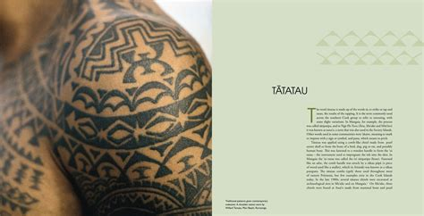 revival tattoo patterns of the past revival in the cook islands