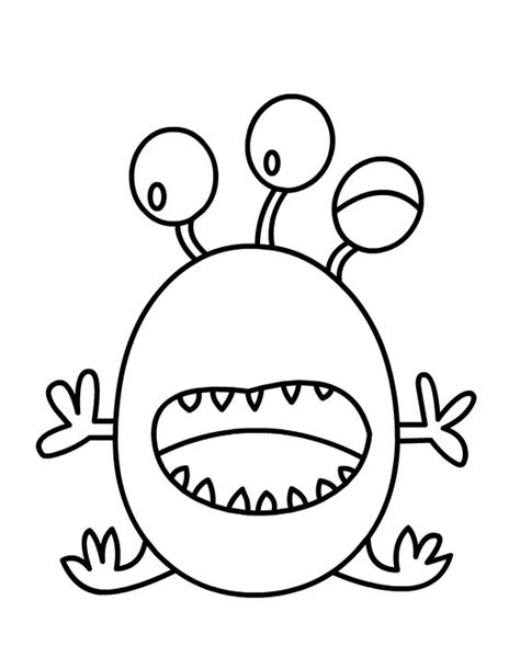 monster birthday coloring page coloriage f 234 te sur le th 232 me des monstres and coloration
