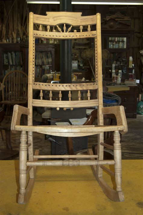 Chair Repair Shop by Golden Eagle Cabinet Shop Restorations In Progress