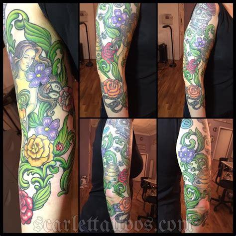 garden of eden tattoo scarlet tattoos la nyc