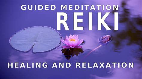 guided meditation reiki  healing  pain